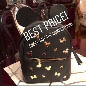 ❤️ SALE! Disney Mickey Minnie Mini Backpack Bag!